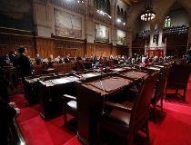 Senate chamber on Parliament Hill