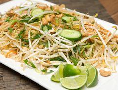 Vegetarian Pad Thai. (Craig Glover/QMI AGENCY)
