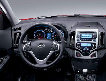The interior of the 2009 Hyundai Elantra Touring. (Handout)
