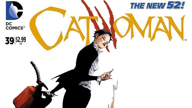 "DC Comics' ""Catwoman"" issue #39 (DC Comics)"