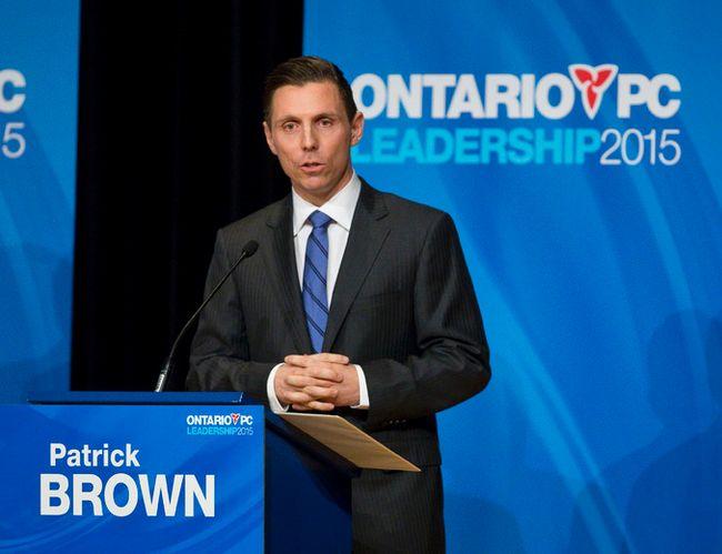 Barrie MP Patrick Brown. (Craig Glover/QMI Agency)