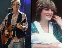 "Eric Clapton and Princess Diana (<A HREF=""http://www.wenn.com"" TARGET=""newwindow"">WENN.COM</a>)"