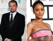 Leonardo DiCaprio and Rihanna. (Reuters file photos)