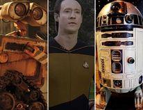 Wall-E, Data and R2-D2 (Handouts/QMI Agency files)