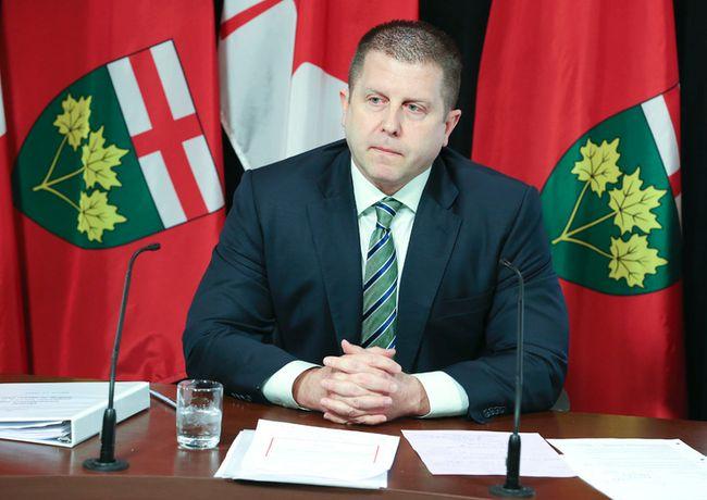 Ontario ombudsman Andre Marin. (Veronica Henri/Toronto Sun)
