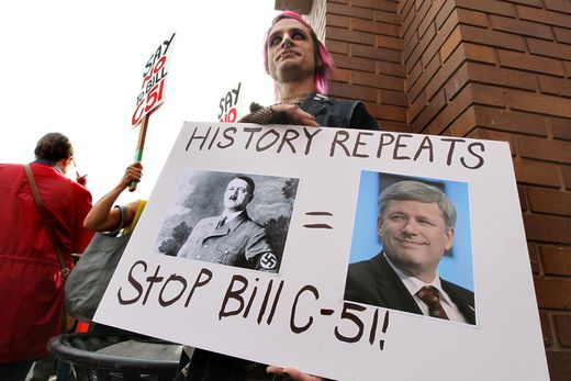 Hundreds of Edmontonians protest proposed anti-terrorism ...