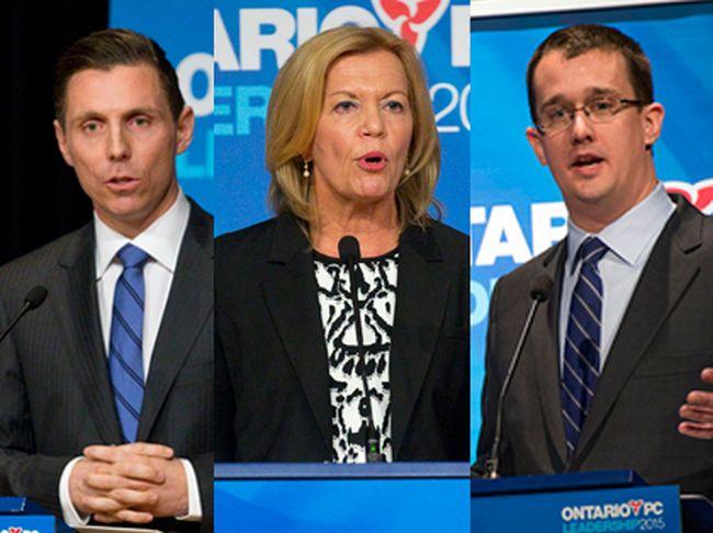 PC leadership candidates