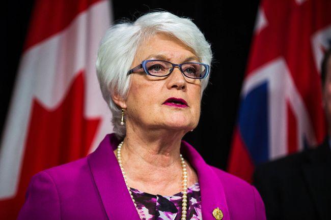 Ontario Minister of Education Liz Sandals. (Ernest Doroszuk/Toronto Sun)
