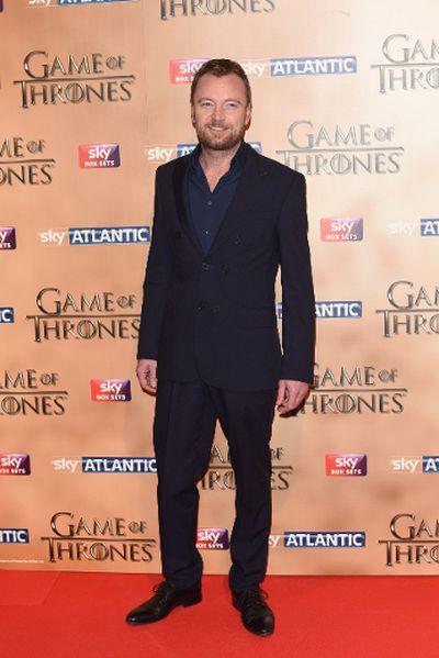"'Game of Thrones' world premiere held at the Tower of London on March 18, 2015 featuring Richard Dormer. (Daniel Deme/<A HREF=""http://www.wenn.com"" TARGET=""newwindow"">WENN.COM</a>)"