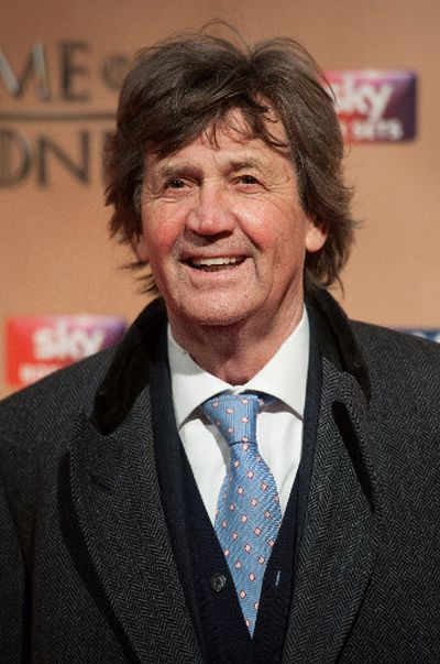 "'Game of Thrones' world premiere held at the Tower of London on March 18, 2015 featuring Melvyn Bragg. (Daniel Deme/<A HREF=""http://www.wenn.com"" TARGET=""newwindow"">WENN.COM</a>)"