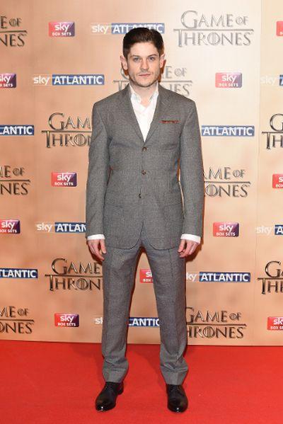 "'Game of Thrones' world premiere held at the Tower of London on March 18, 2015 featuring Iwan Rheon. (Daniel Deme/<A HREF=""http://www.wenn.com"" TARGET=""newwindow"">WENN.COM</a>)"