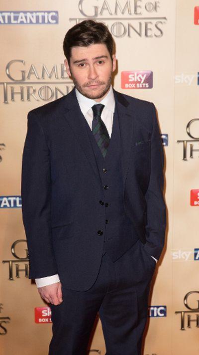 "'Game of Thrones' world premiere held at the Tower of London on March 18, 2015 featuring Daniel Portman. (Daniel Deme/<A HREF=""http://www.wenn.com"" TARGET=""newwindow"">WENN.COM</a>)"