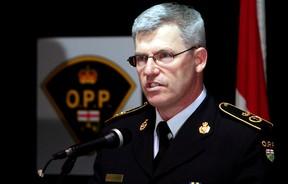 Ontario Provincial Police Commissioner Vince Hawkes. (Luke Hendry/Postmedia Network)