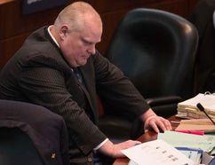 Rob Ford at Toronto City Hall, Wednesday, March 11, 2015. (Craig Robertson/QMI Agency)