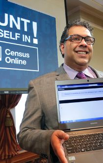 Online census Naheed Nenshi