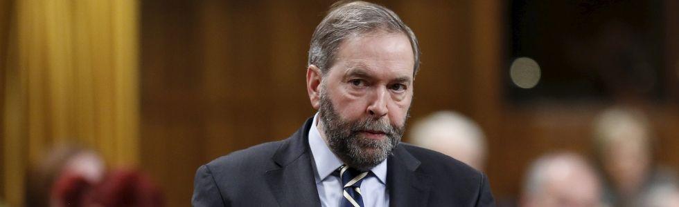 NDP leader
