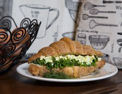 Egg Salad Sandwich. (DEREK RUTTAN/QMI AGENCY)
