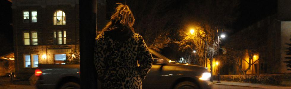 At-risk street walker prostitution filer
