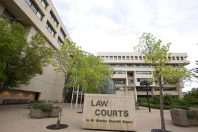 The Edmonton Law Courts. Ian Kucerak/Edmonton Sun/QMI Agency
