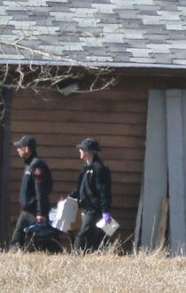 Cops return to Douglas Garland acreage