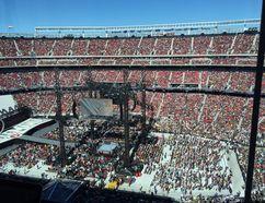 The stadium fills up for Wrestlemania 31 in San Francisco, Sunday, March 29, 2015. Jan Murphy/QMI Agency