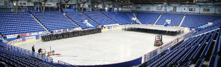 The Sudbury Community Arena. (Gino Donato/Sudbury Star)