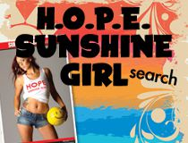 HOPE SUNshine Girl Button 2015
