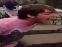 Man bites off hamster's head