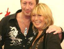 Julian and Cynthia Lennon. (WENN.COM file photo)