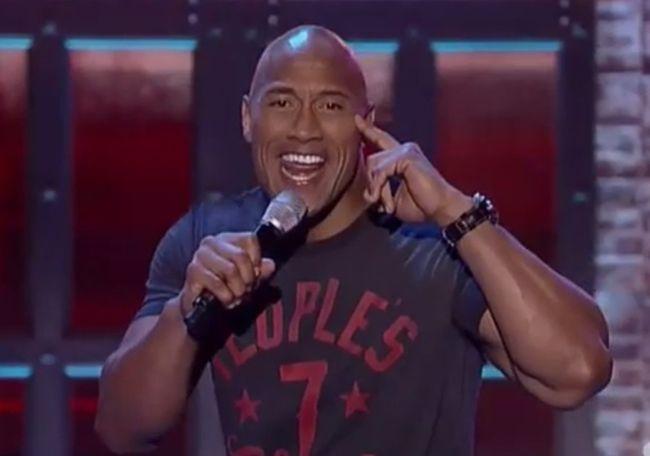 Dwayne 'The Rock' Johnson sings Taylor Swift's Shake It Off (YouTube)