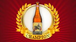 """Le Trou du Diable's """"La Saison du Tracteur"""" wins Sun Media and canoe.ca's Beer Madness contest."""