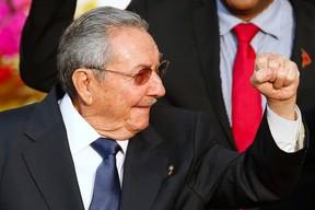 Cuba's President Raul Castro.  REUTERS/Carlos Garcia Rawlins