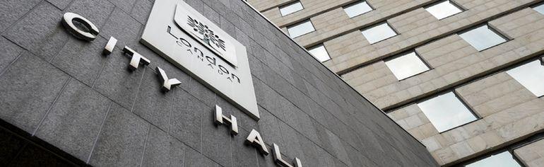 London city hall. (Free Press file photo)