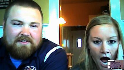 Joel Burger and Ashley King