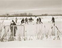 Pond Hockey by Heather Jones.