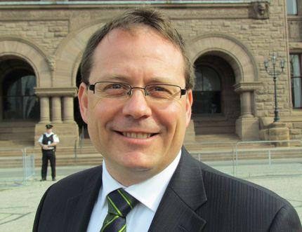 Ontario Green Party leader Mike Schreiner