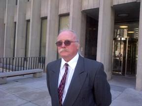 Rick Sauve outside court Tuesday, April 14, 2015. (Sam Pazzano/Toronto Sun)