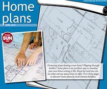 Home Plans April cover