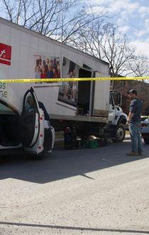 Milk truck police pursuit