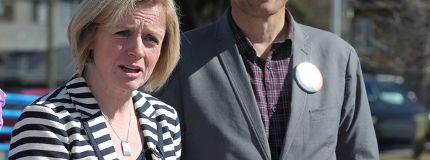 NDP Leader Rachel Notley Calgary