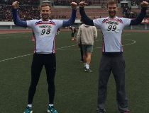 Luke Krueger and Jason Dyck North Korea marathon