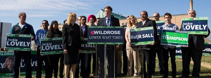 Wildrose Party leader Brian Jean