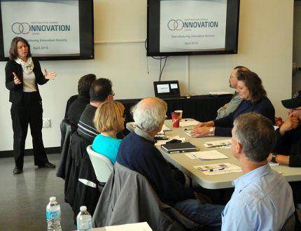 Northwestern Ontario Innovation Centre representative