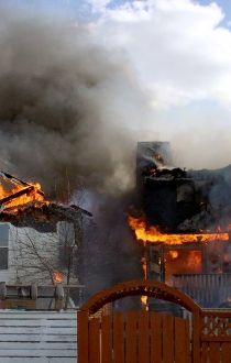 hidden valley house fire