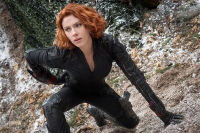 Black Widow/Natasha Romanoff (Scarlett Johansson).