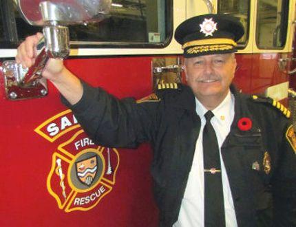 Former Sarnia fire chief Patrick Cayen