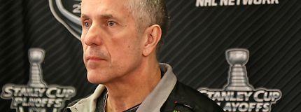 Calgary Flames Head Coach Bob Hartley