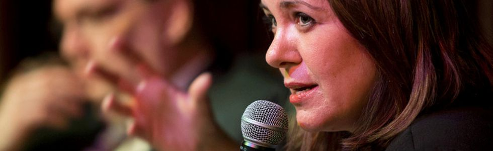 Danielle Smith on panel, April 25 2015
