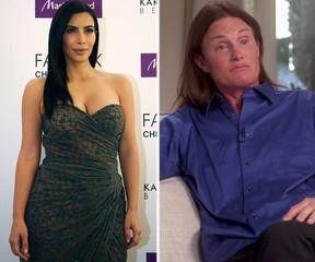 Kim Kardashian and Bruce Jenner. (WENN.COM photos)