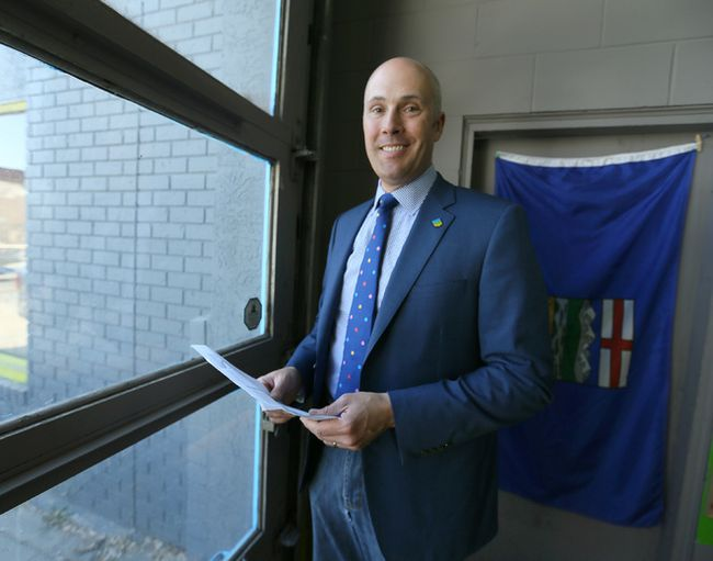 Alberta Party leader Greg Clark. Jim Wells/Calgary Sun/Postmedia Network
